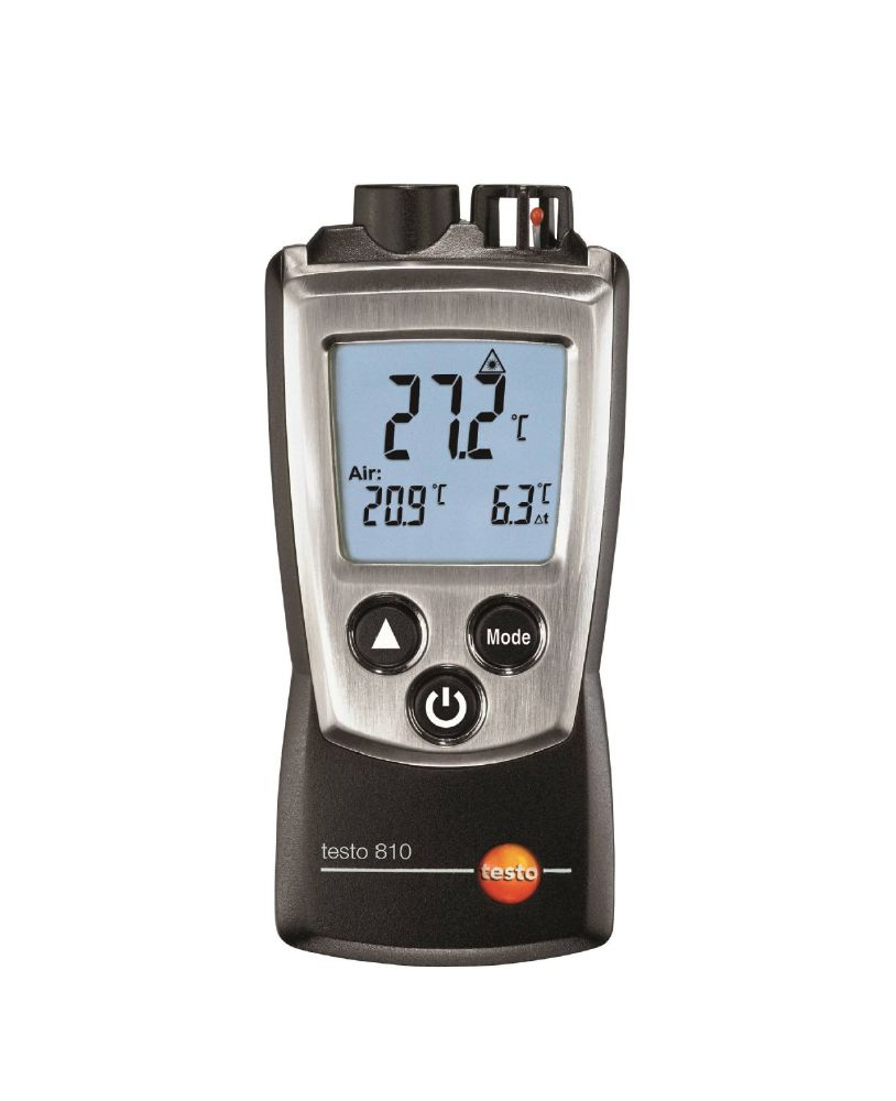 Testo 810 - 2 channel Infrared Thermometer (with TopSafe case)